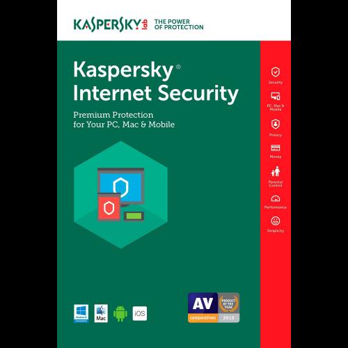 Kaspersky Internet Security 2017 2 Year 3 Device