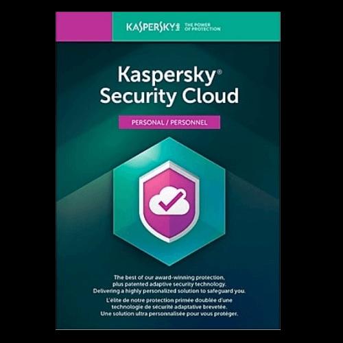 Kaspersky Security Cloud Personal 2021 - 1-Year / 3-Device - Global