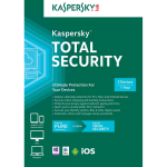 Kaspersky Total Security 2018 - 1-Year / 3-Device - Americas