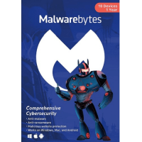 Malwarebytes Premium - 1-Year / 10-Device