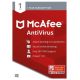 McAfee AntiVirus - 1-Year / 1-PC