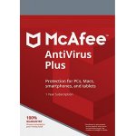 McAfee AntiVirus Plus - 1-Year / 1-Device - Global