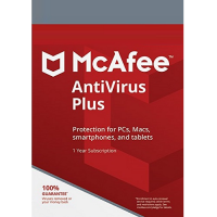 McAfee AntiVirus Plus - 1-Year / 3-Device - Global