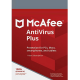 McAfee AntiVirus Plus - 1-Year / 5-Device