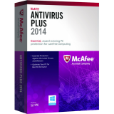McAfee Antivirus Plus 2014 - 1-Year / 1-PC