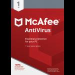 McAfee AntiVirus Plus - 1-Year / 1-Device - Global