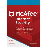 McAfee Internet Security - 1-Year / 3-Device - Global