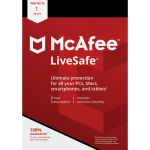McAfee LiveSafe - 3-Year / 1 Device - Global