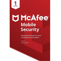 McAfee Mobile Security - 1-Year / 1-Device