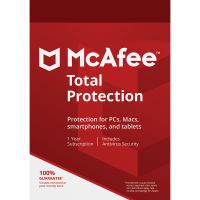 McAfee Total Protection - 1-Year / 10-Devices