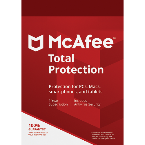 McAfee Total Protection - 1-Year / 3-Devices