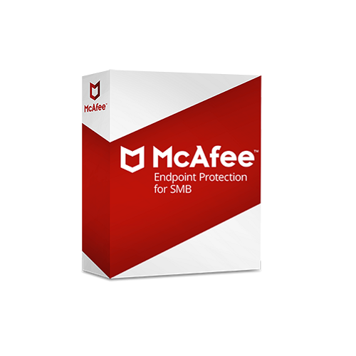 McAfee Endpoint Protection Essential for SMB - 1-Year / 26-50 Nodes