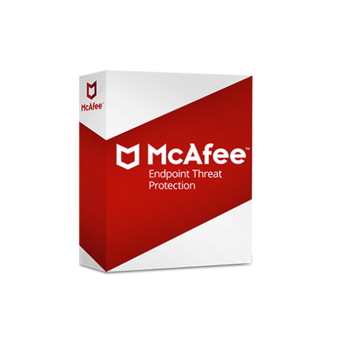 McAfee Endpoint Threat Protection - 1-Year / 26-50 Seats