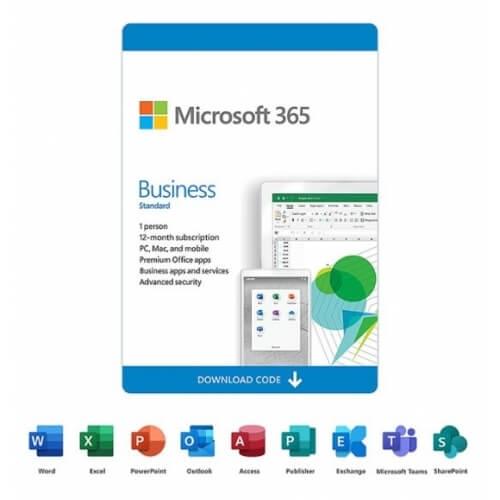 Microsoft 365 Business Standard - 1-Year / 1-User