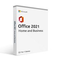 Microsoft Office Home and Business 2021 - 1-User