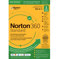 Norton 360 Standard - 1-Year / 1-Device - United States & Canada