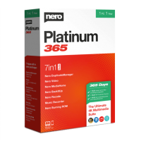 Nero Platinum 365 - 1-Year / 1-PC - Global