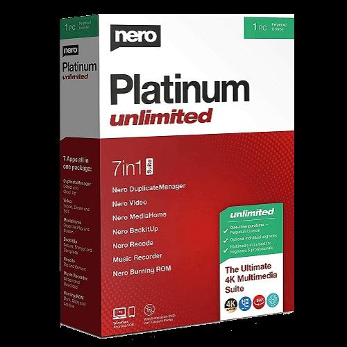 Nero Platinum Unlimited - Perpetual / 1-PC - Global