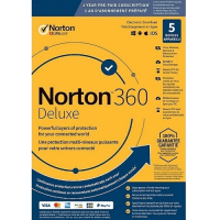Norton 360 Deluxe - 1-Year / 5-Device - United States & Canada