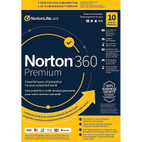 Norton 360 Premium - 1-Year / 10-Device - UK/Europe