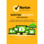 Norton Security with Backup - 1-Year / 10-Device