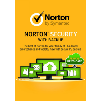 Norton Security Premium with Backup - 1-Year / 10-Device - UK/Europe