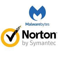 Norton Security Deluxe - 1-Year / 3-Device & Malwarebytes Premium - 1-Year / 3-Device - BUNDLE