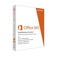 Microsoft Office 365 Small Business Premium - 1-year / 5-PC or MAC
