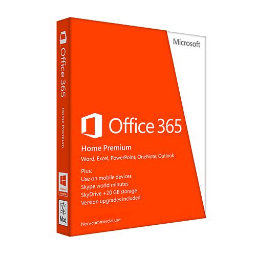 Microsoft Office 365 Home Premium - 1-year / 6-PC or MAC