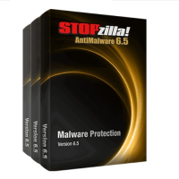 iS3 STOPzilla AntiMalware - 1-Year / 1-PC