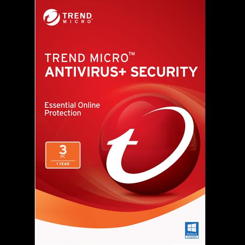 Trend Micro Antivirus+ (2020) - 1-Year / 3-PC