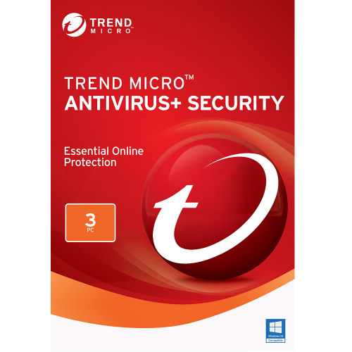 Trend Micro Antivirus+ (2020) - 2-Year / 3-PC