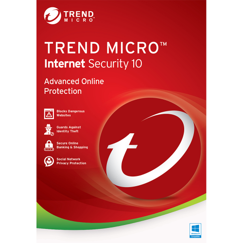 Trend Micro Internet Security (2016) - 1-Year / 3-PC - OEM ESD
