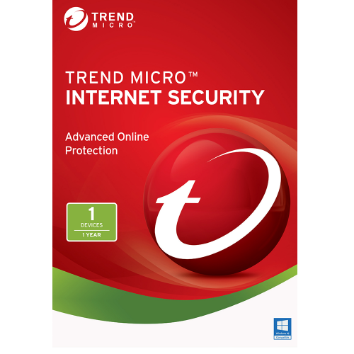 Trend Micro Internet Security (2019) - 1-Year / 1-PC