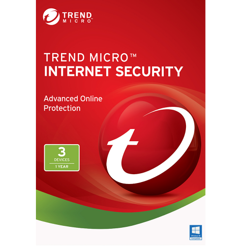 Trend Micro Internet Security (2020) - 1-Year / 3-PC