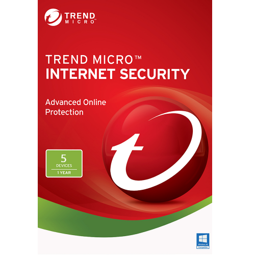 Trend Micro Internet Security (2019) - 1-Year / 5-PC