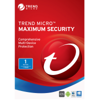 Trend Micro Maximum Security (2021) - 1-Year / 1-Device