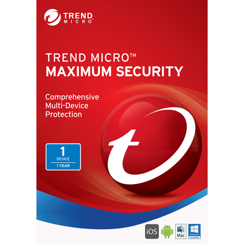 Trend Micro Maximum Security (2019) - 1-Year / 1-Device