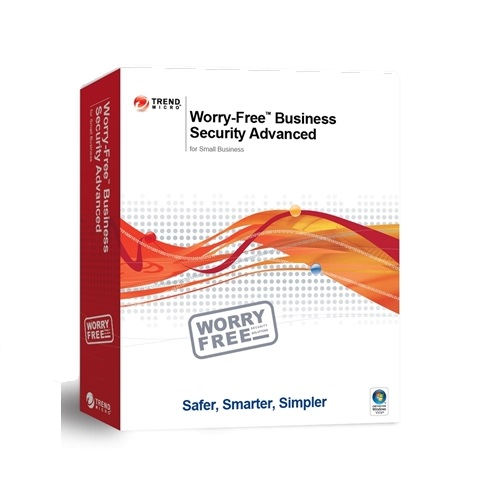 Trend Micro Worry-Free Business Security Advanced - 1-Year / 2-25-Users - Renewal