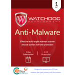 Watchdog Anti-Malware - 1-Year / 1-PC