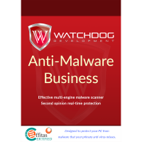 Watchdog Anti-Malware Business - 3-Year / 10-24 Workstations