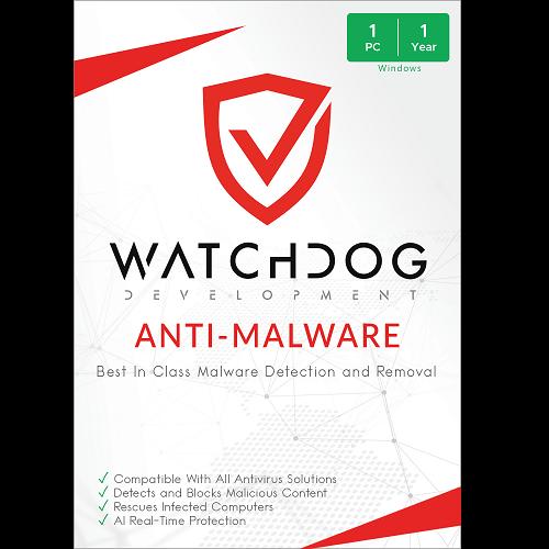 Watchdog Anti-Malware - 1-Year / 1-PC