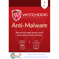 Watchdog Anti-Malware - Lifetime of Device / 5-PC