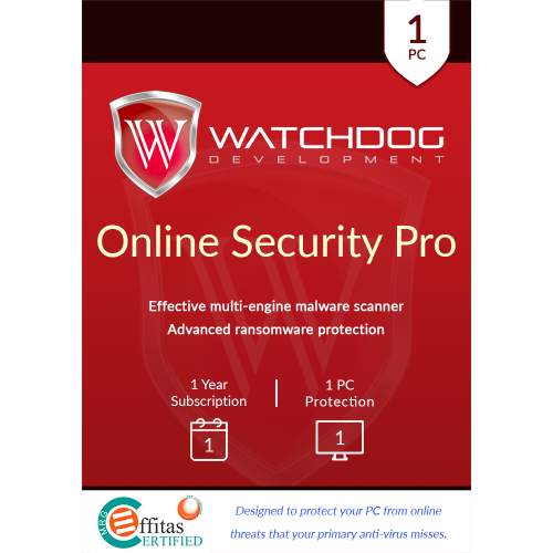 Watchdog Online Security Pro - 1-Year / 1-PC - NFR