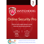 Watchdog Online Security Pro - 1-Year / 5-PC