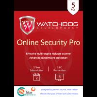 Watchdog Online Security Pro - 2-Year / 5-PC