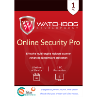 Watchdog Online Security Pro - Lifetime of Device / 1-PC