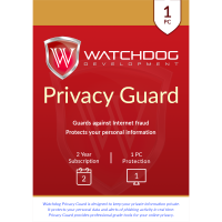 Watchdog Privacy Guard - 2-Year / 1-PC