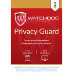 Watchdog Privacy Guard - 4-Year / 1-PC