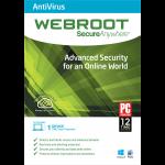 Webroot SecureAnywhere Antivirus - 1-Year / 1-Device